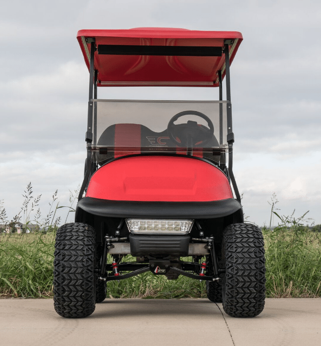 Bright Red KEVLAR Custom Club Car full