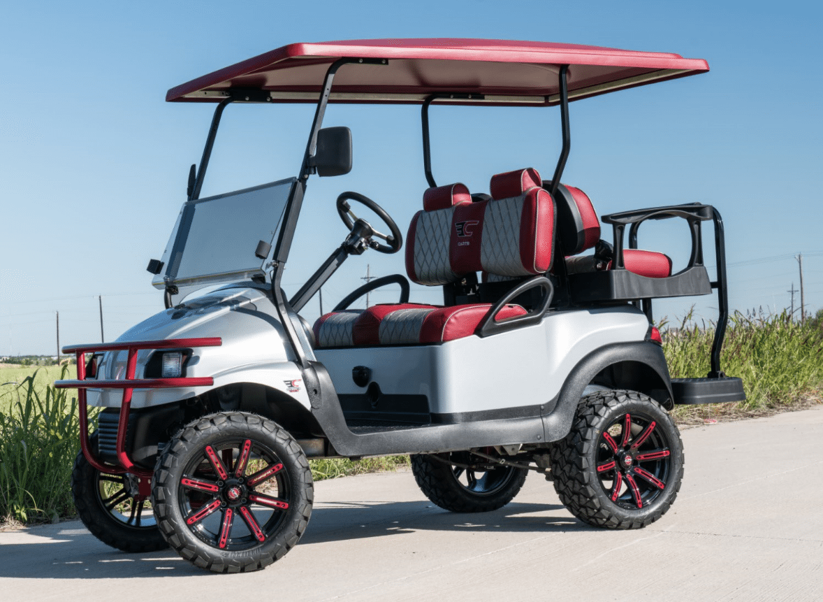 Texas A & M University Golf Cart
