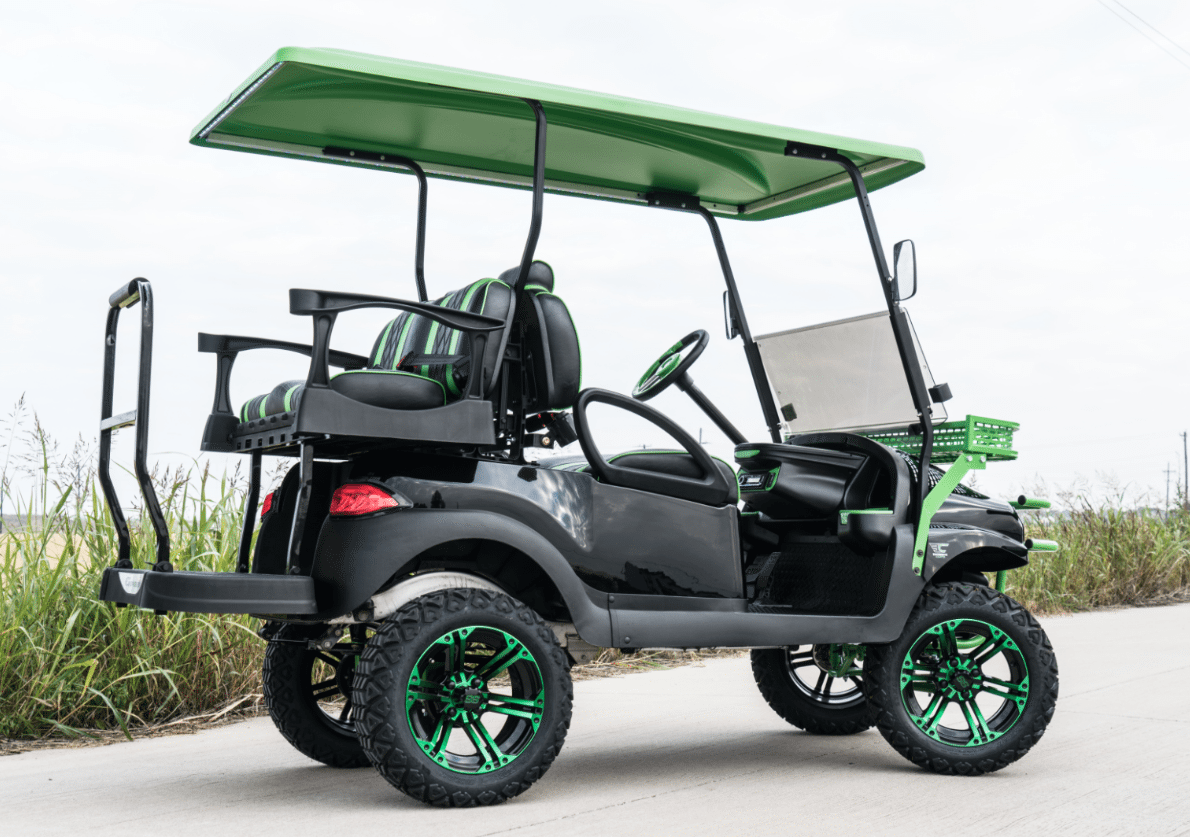 Phantom Mean Green Golf Cart Nationwide Shipping