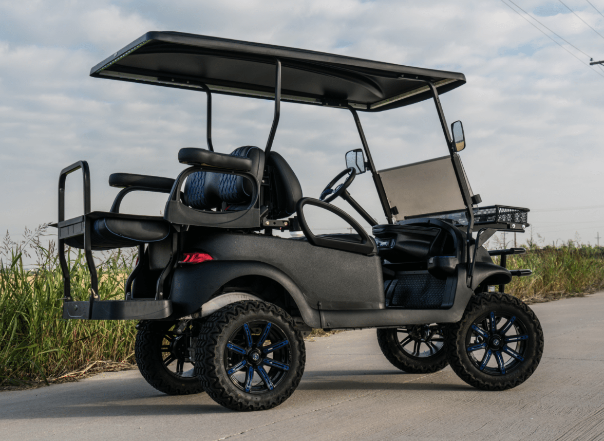 Watch additionally 400699637907 moreover 2002 6 Passenger Ezgo Electric Golfcart moreover Motoev 8 Passenger Street Legal Golf Cart likewise Cart CCE 22293 5 11 16 2011 Club Car Precedent Silver. on in golf cart dash speakers