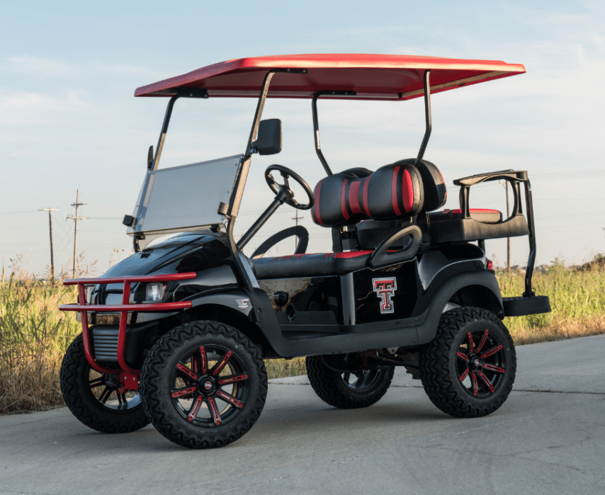 Texas Tech Golf Cart