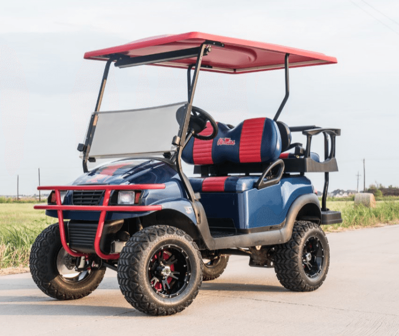 Ole Miss Golf Cart