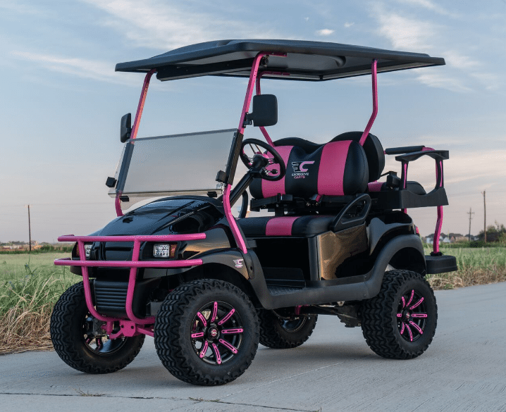Pinkalicious Golf Cart