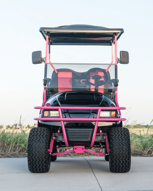 Pinkalicious Golf Cart full