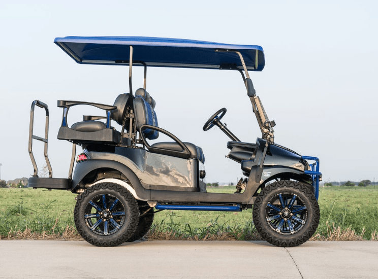 Midnight Blue 2 Golf Cart full