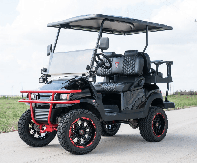 Texas Tech Buck Edition Golf Cart