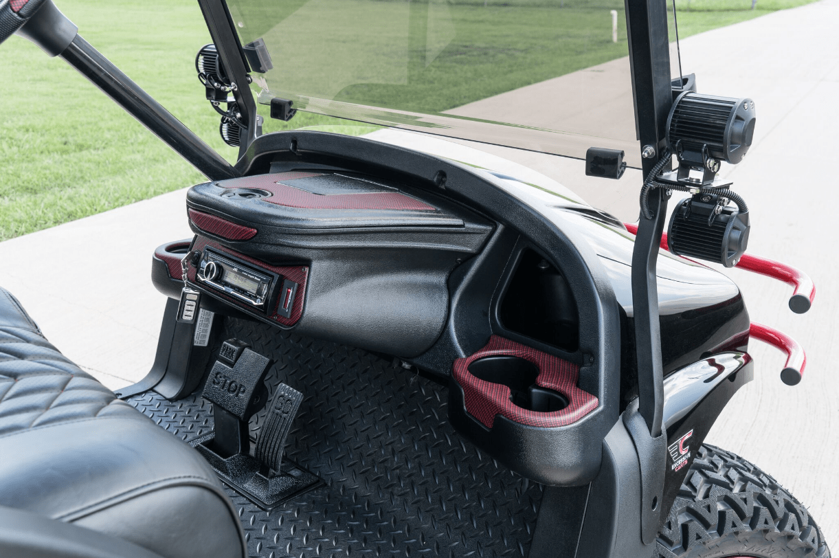 Texas Tech Buck Edition Golf Cart full
