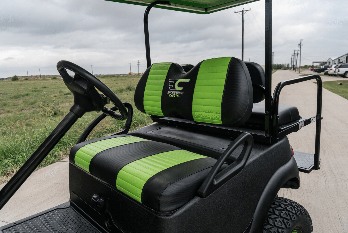 Kevlar Green Golf Cart full