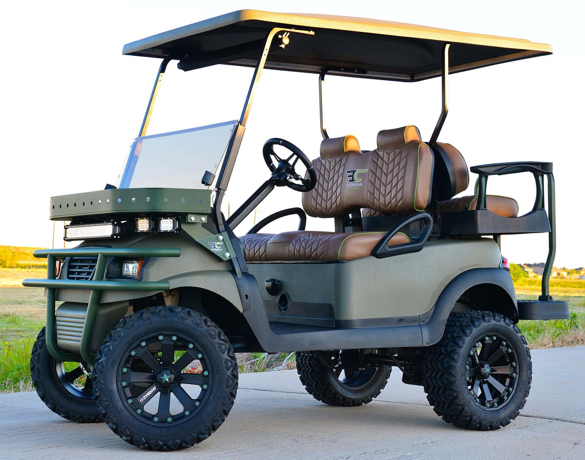 The Fury Golf Cart