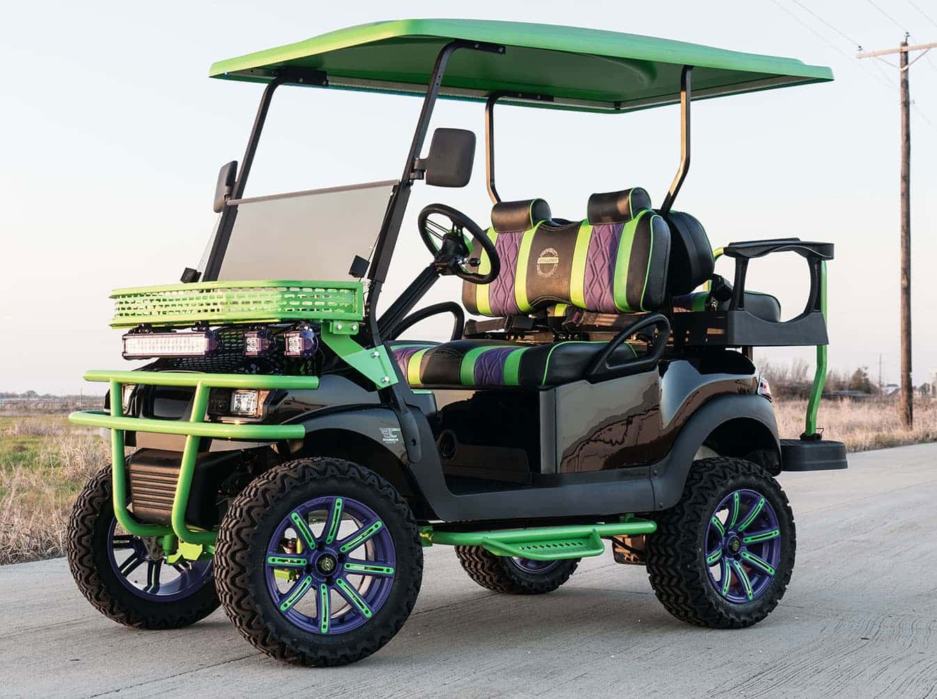 The Joker Golf Cart