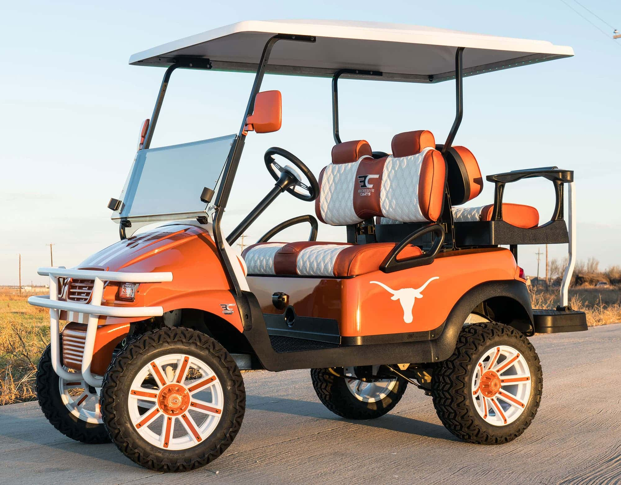 UT Longhorn Golf Cart