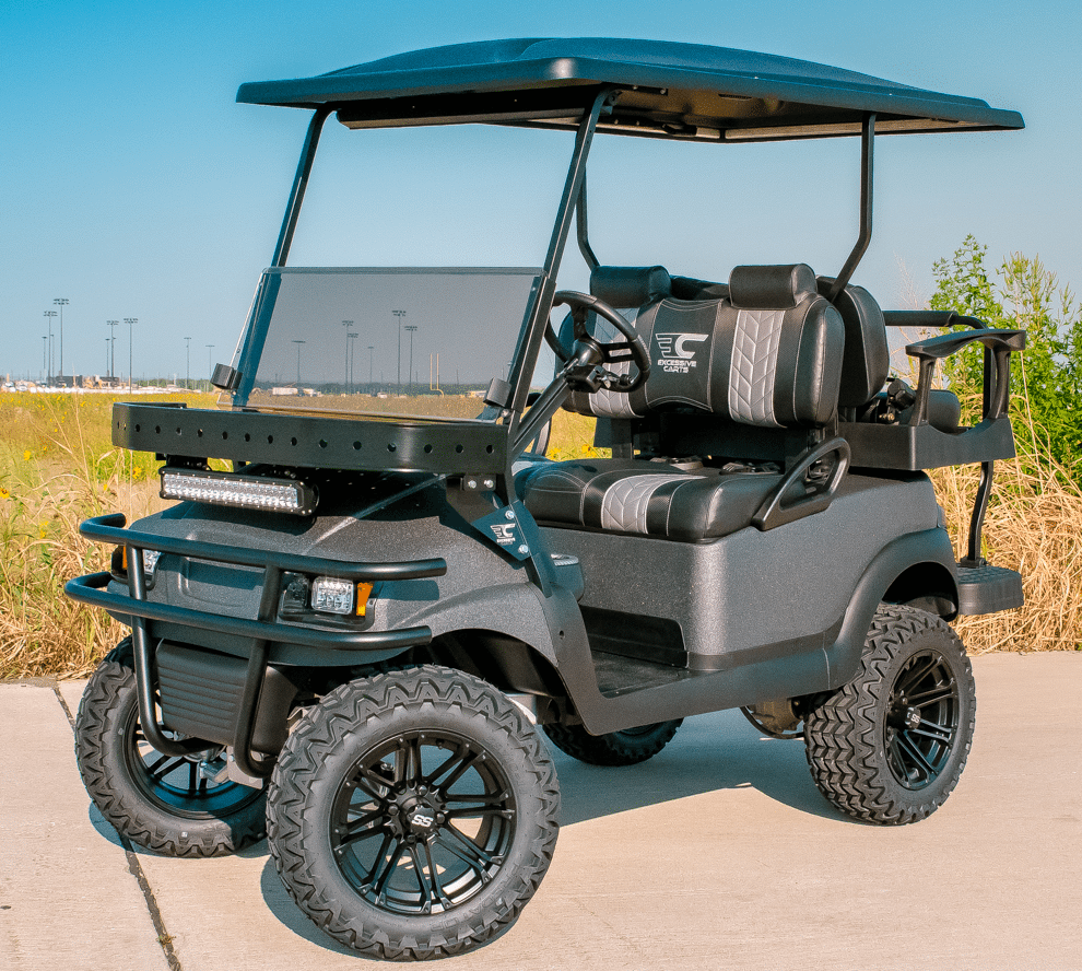 Charcoal Kevlar Tough Golf Cart