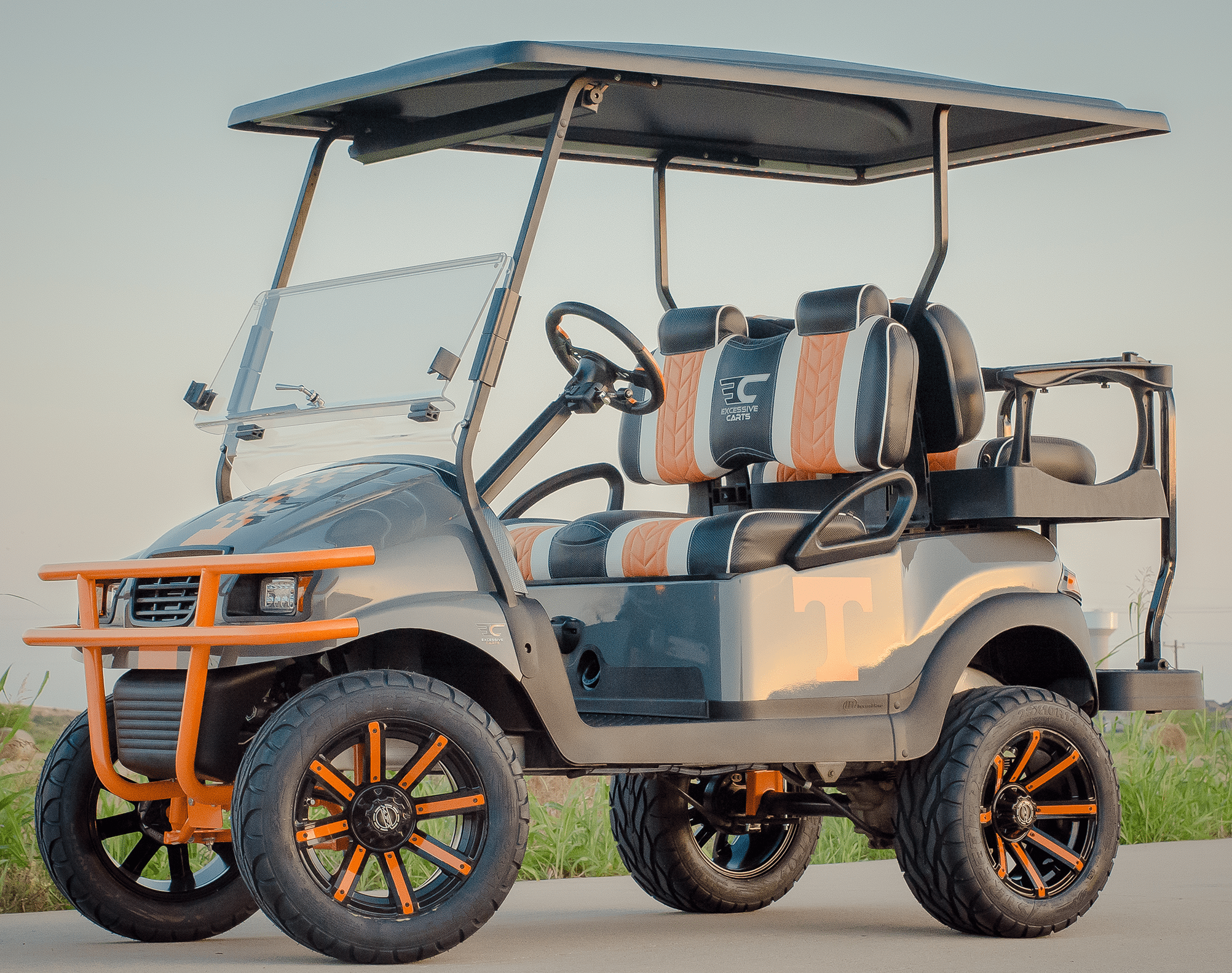 UT Volunteer Golf Cart