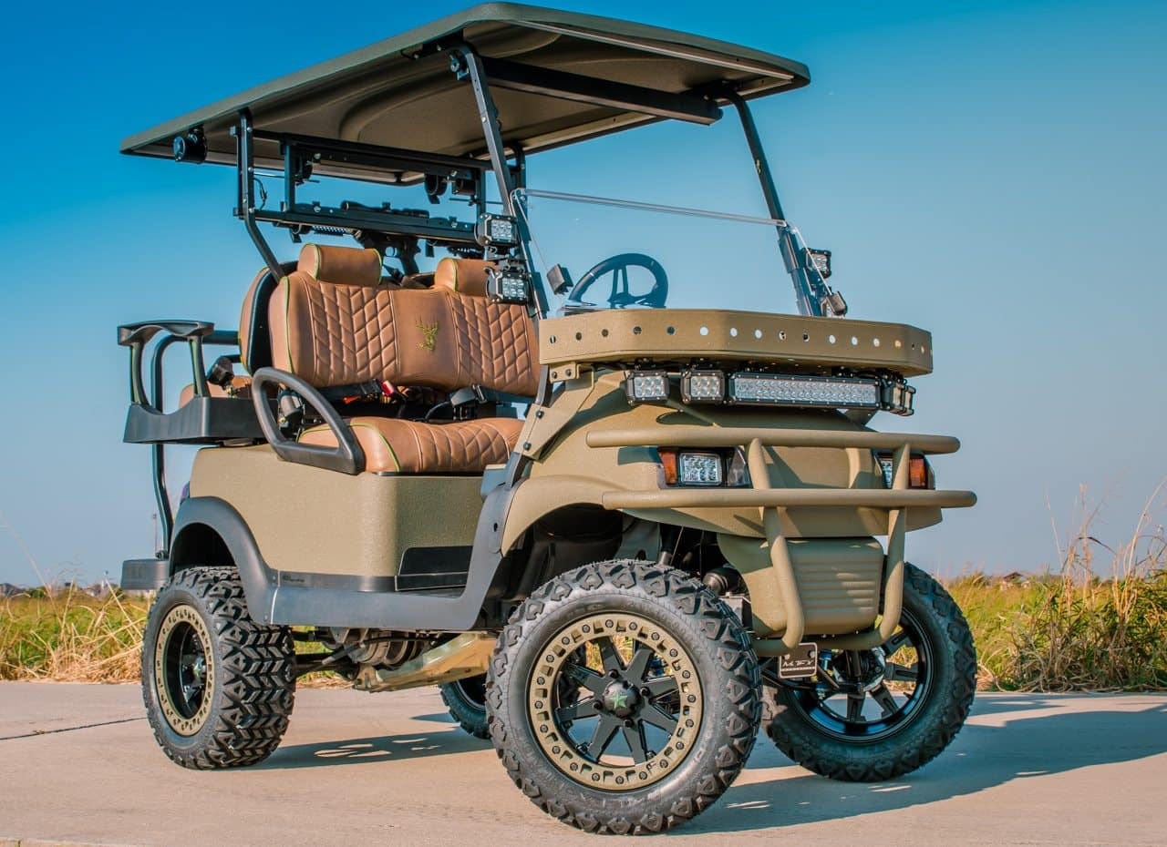 apocalypse golf cart