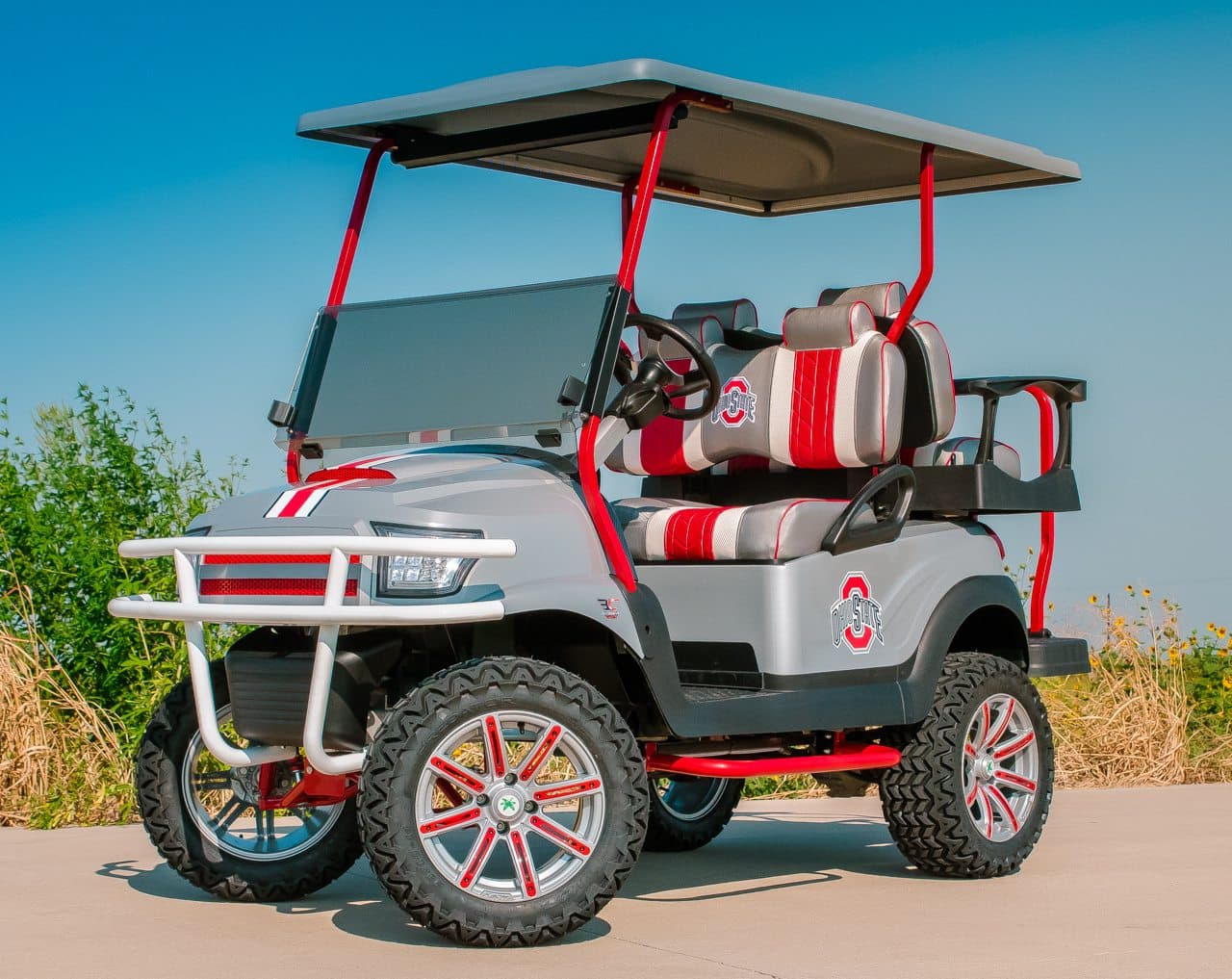 The Ohio State Golf Cart
